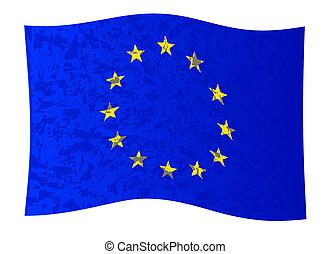 EU Flag Wave