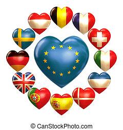 EU hearts