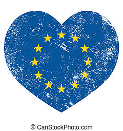 EU, I love European Union heart