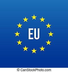 EU logo. European union vector