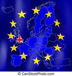 EU map - Great Britain