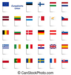 EU Member States - Flags
