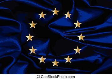 EU Silk Flag