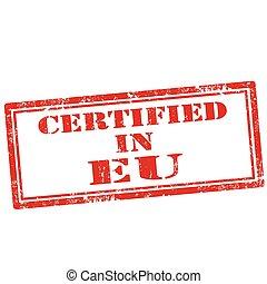 eu-stamp, certificato