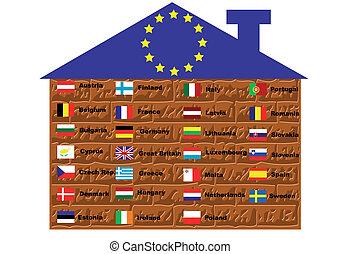eu, zászlók