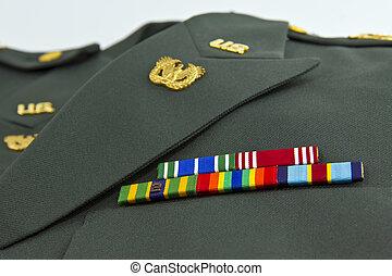 eua., recompensas, exército