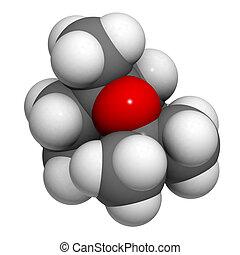 Eucalyptol molecule, chemical structure