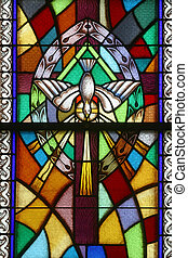 eucaristía, siete, sacraments, santo