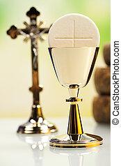 eucaristia, comunhão, sacramento