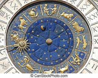 euch, dell'orologio, later., name, clocktower., venedig,...