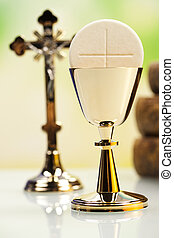Eucharist, sacrament of communion - Christian holy communion