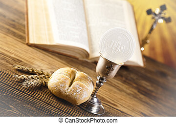 Eucharist, sacrament of communion