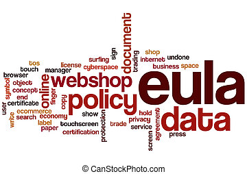 EULA word cloud