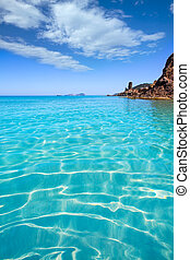 eulalia, aigues, ibiza, aguas, santa, blancas, praia,...