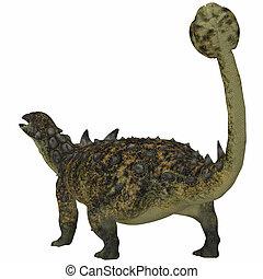 Euoplocephalus Dinosaur Tail
