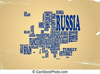 európa, szöveg