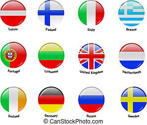 európai, flages, -, rész, 1