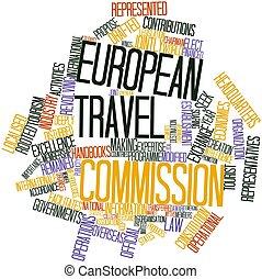 európai, utazás, megbíz
