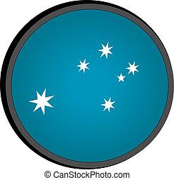 Eureka flag button