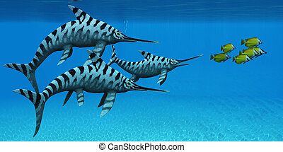 Eurhinosaurus Marine Reptile