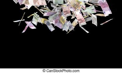 euro , πέφτω