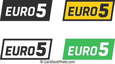 Euro 5 symbols