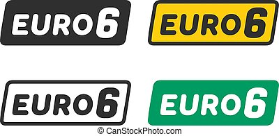 Euro 6 symbols