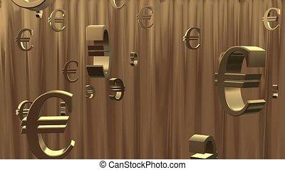 Euro Background.