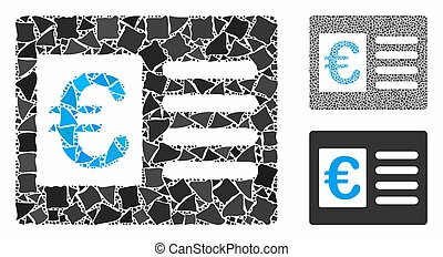 Euro bank account Composition Icon of Humpy Parts - Euro...