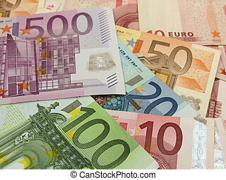 Euro banknotes - Euro (EUR) banknotes - legal tender of the...