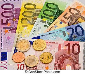 Euro banknotes - .