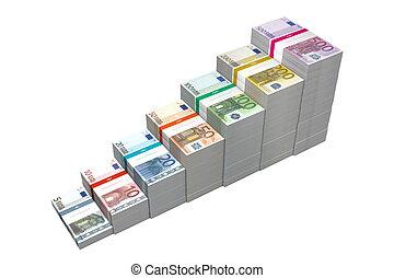 Euro Banknotes Ramp 5 - 500