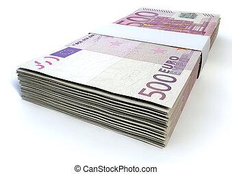 Euro Bill Stack