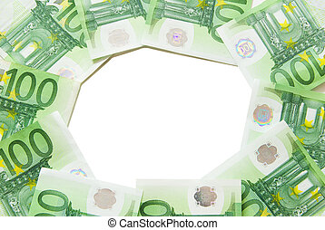 euro bills euro money