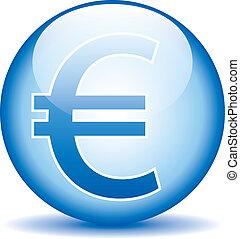 Euro button