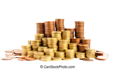 euro, cent, mynter