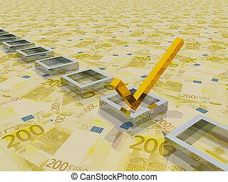 Euro Check Mark