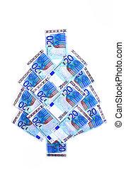 Euro christmas tree