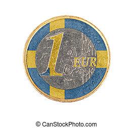 Euro coin, 1 euro