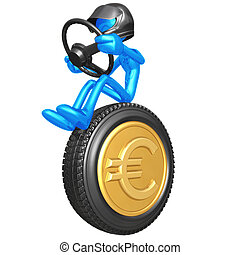 Euro Coin Currency Racer