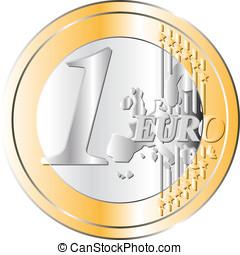 Euro Coin - An Euro coin. Very High res.