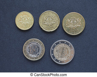 euro coins from Lithuania