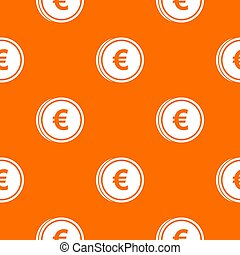 Euro coins pattern seamless - Euro coins pattern repeat...