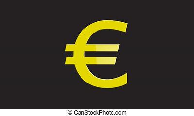 Euro collapse - Shot of Euro collapse