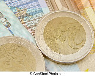 Euro currency banknotes and coins - Euro currency - legal...