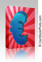 Euro currency box package