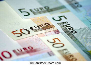 Euro currency. Conceptual.