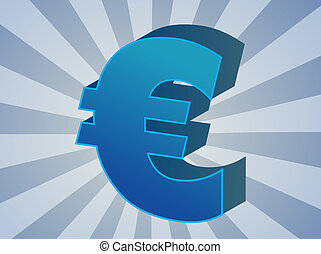 Euro currency - European Union Euro Currency symbol ...
