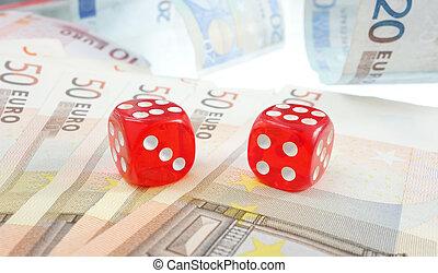 Euro dice money