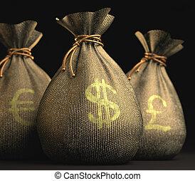 Euro Dollar Pound